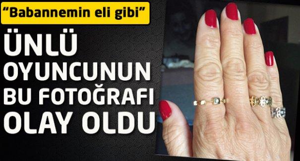 Pınar Altuğ'un elleri takipçilerini şaşırttı