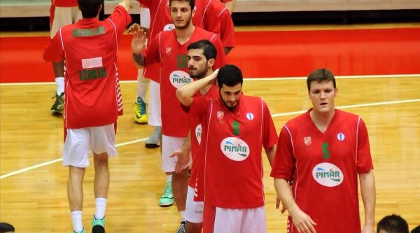 Pinar Karşiyaka - Asesoft Ploiest Basketbol Maçi