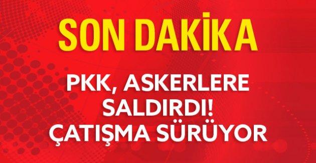 PKK, Askerlere Saldırdı!Yaralı Askerler Var!