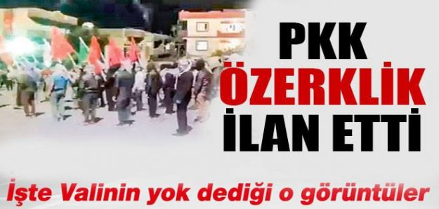PKK Cizre'de özerklik ilan etti