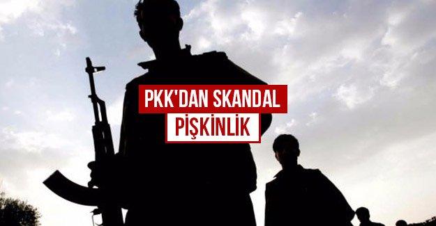 PKK'dan skandal pişkinlik...