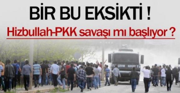 PKK-Hizbullah gerilimi...