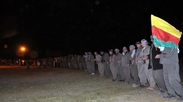 Pkk İlk Eylemin Yıldönümünü Kato Dağı'nda Kutladı
