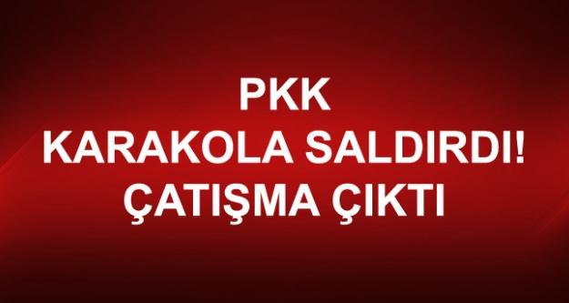 PKK, Tunceli'de Karakola Saldırdı