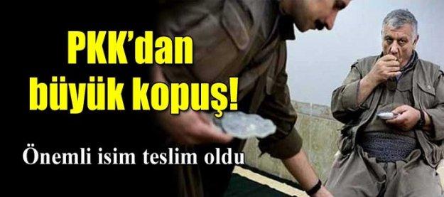 PKK'dan büyük kopuş: Önemli isim teslim oldu!