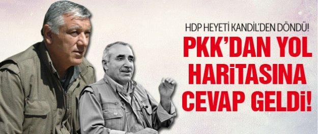 PKK'dan hükümetin yol haritasına yanıt!