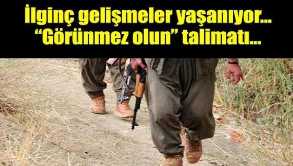 PKK'dan örgüt mensuplarına