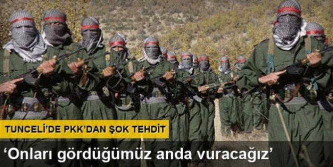 PKK'dan şok tehdit...