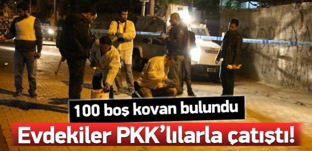 PKK'lılar bir eve silahlı saldırı düzenledi!