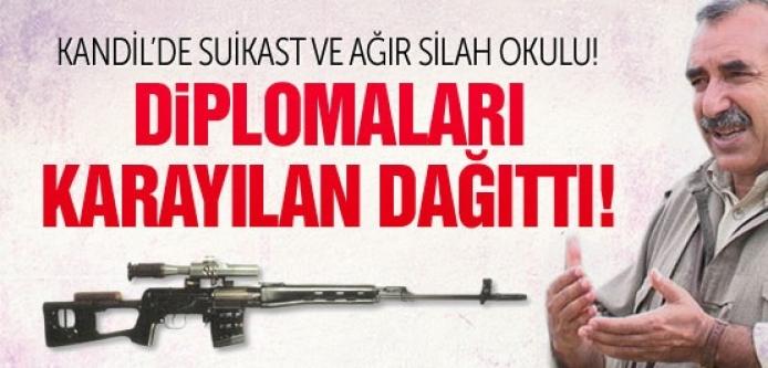 PKK'nın suikast okulu mezunlarını verdi diplomaları Karayılan dağıttı!