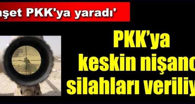PKK'ya 'keskin nişancı silahı' takviyesi