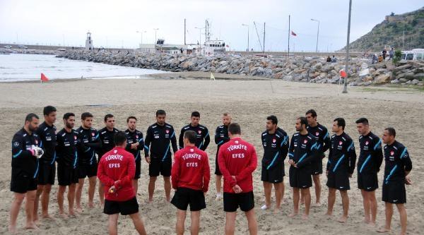Plaj Futbolu Milli Takımı Alanya'da 2 Maç Oynayacak