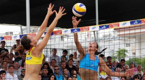 Plaj Voleybolunda Şampiyonlar Belli Oldu