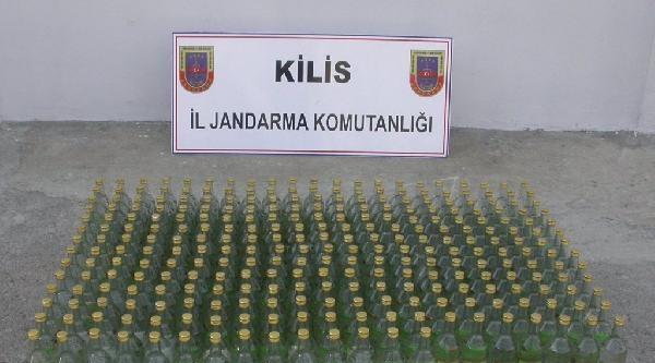 Polateli'nde Kaçak Çay Ve İçkiye 2 Gözaltı