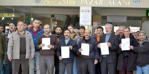 Polatli'da Pazarci Esanfinin Park Kisitlamasi Isyani