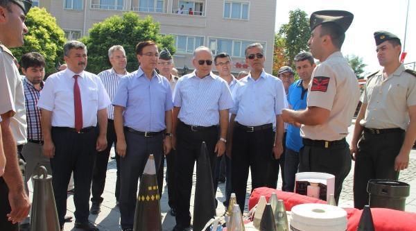 Polatlı'da Topçu Ve Füze Okulu Komutanlığı'ndan Silah Sergisi