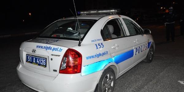 Polis Aracina Ateş Açildi: 1 Polis Yarali/ek Fotoğraflar
