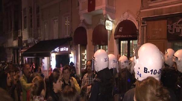 Polis, Mis Sokak'ta Eğlenen Gazetecileri