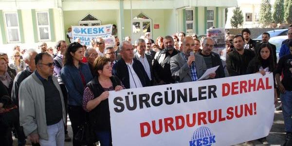 Polis Müdahalesine Tepki Gösteren Merura 'sürgün' Tepkisi