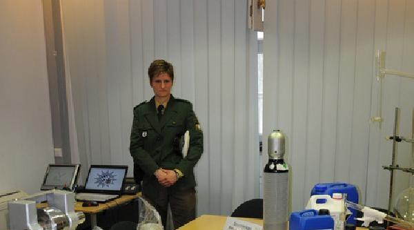 Polis, Münih'te Bir Uyuşturucu Laboratuvarı Ortaya Çikardi
