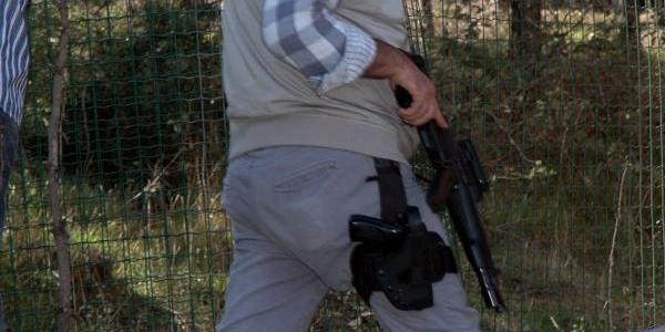 Polis Ormanda Bomba Aramasi Yapti