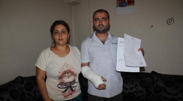 Polise 'bilek Kırma' Suçlaması