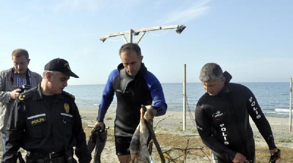 Polise Denizde Ceset İhbari Geldi, Ağaç Dalı Çikti