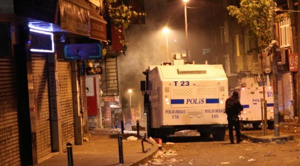 Polisin Müdahalesi Gece De Devam Etti