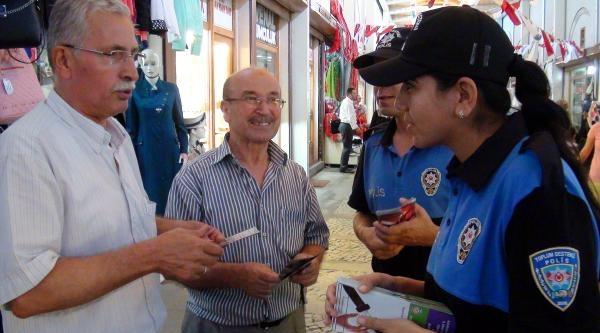 Polisten Bayram Tatilcilerine Broşürlü Uyarı