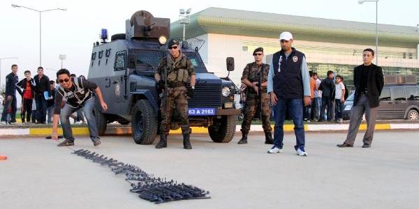 Polisten Film Gibi 'kapan Kullanma' Tatbikati