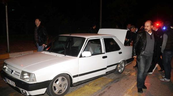 Polisten Kaçan Sürücüye Sert Müdahale