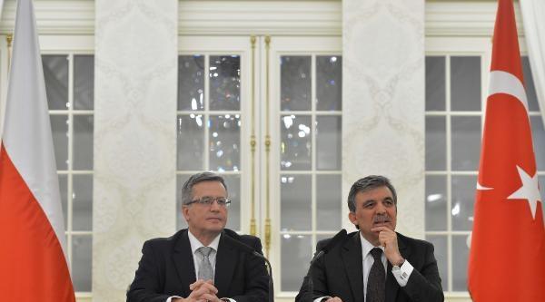 Polonya Cumhurbaşkanı Komorowski Çankaya Köşkü'nde (4)