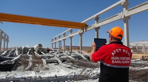 Prefabrik Beton İmalathanesinde Çökme: 3 Yaralı