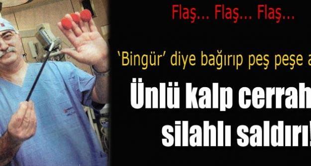 Prof. Dr. Bingür Sönmez'e silahlı saldırı