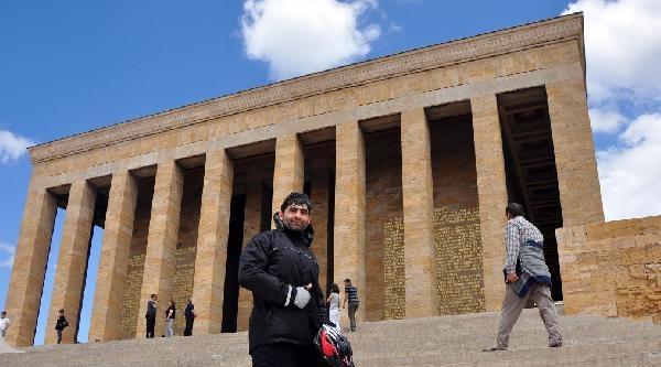 Protez Bacakla İzmir'den Ankara'ya 61 Saat Pedal Çevirdi