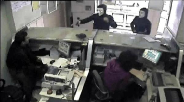 Ptt Şubesi'ni Soyan Maskeli 2 Kişi Yakalandı