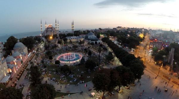 Ramazanda Sultanahmet Havadan Da Çok Güzel
