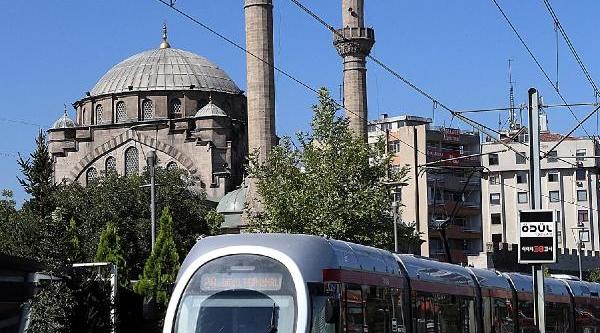Rayli Sistem Kayseri'de Geçen Yil 26 Milyon Yolcu Taşidi