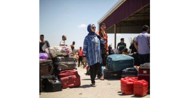 Refah Sınır Kapısı 'çift yönlü' açıldı