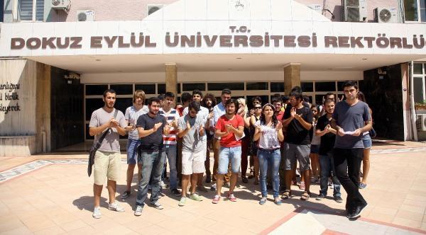 Rektör Füzün, Sınav Mağduru Öğrencilerle Görüştü