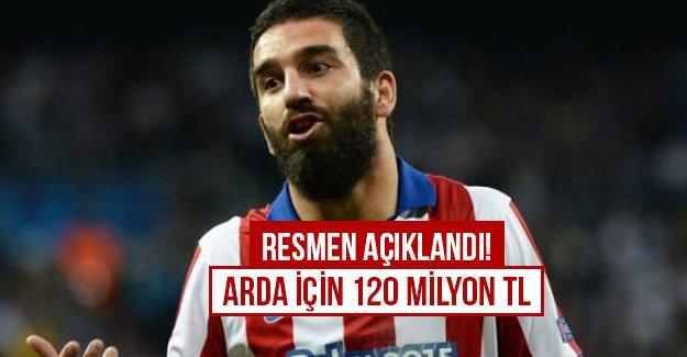 Resmen açıklandı! Arda için 120 milyon TL