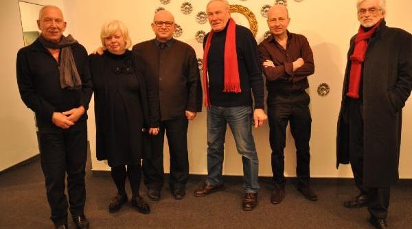 Ressam Mehmet  Aydoğdu'dan Brüksel'de 50. Yil Sergisi