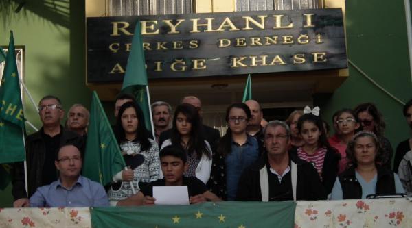 Reyhanli'daki Çerkesler'den Soçi'de Kiş Olimpiyatlari Düzenlenmesine Tepki
