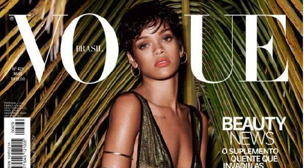 Rıhanna Şimdi De Brezilya Vogue'a Kapak Oldu