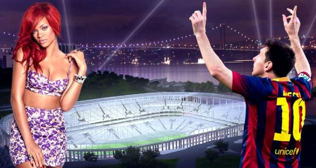 Rihanna ve Messi, Beşiktaş İçin Geliyor...