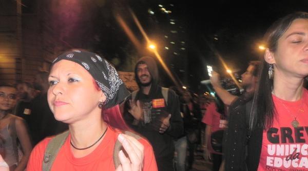 Rio De Janeiro'da Ücretsiz Bilet Eylemi