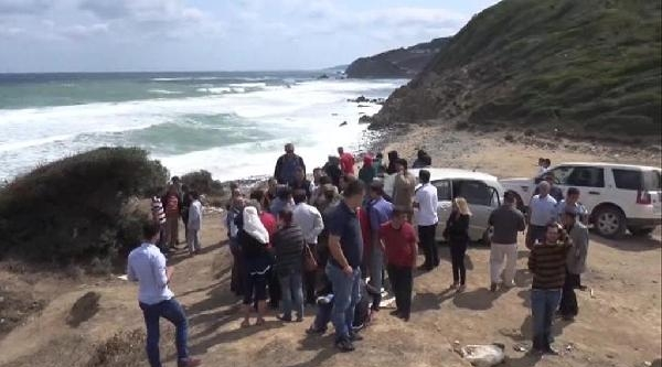Riva'da Denize Giren 2 Kişi Kayboldu