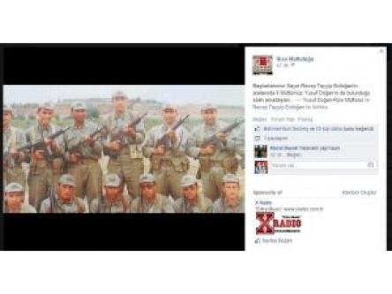 Rize İl Müftüsü, Başbakan'la Askerlik Fotoğrafını Paylaştı...