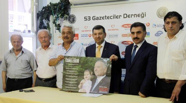 Rize'de 6 Siyasi Parti İl Başkanından Ortak İhsanoğlu Açıklaması
