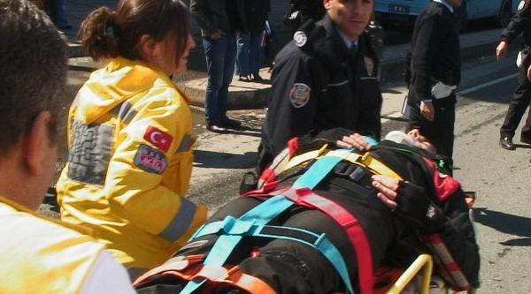 Rize'de Kaza: 1 Polis Yaralı